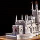 """Экстерьер и дача ручной работы. Ярмарка Мастеров - ручная работа. Купить Копия работы Замок """"Ласточкино гнездо"""" из жидкого камня. Handmade."""
