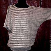 Одежда handmade. Livemaster - original item 100% linen Dolman
