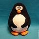 """Вязание ручной работы. МК Пингвин (серия """"шарики""""). AmigurumiFair. Интернет-магазин Ярмарка Мастеров. Пингвин, авторская схема, фетр"""