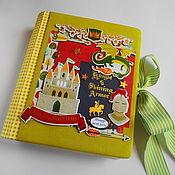 Канцелярские товары handmade. Livemaster - original item The diary of a young mother. Handmade.