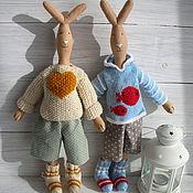 Куклы и игрушки ручной работы. Ярмарка Мастеров - ручная работа Худой заяц  Maileg. Handmade.