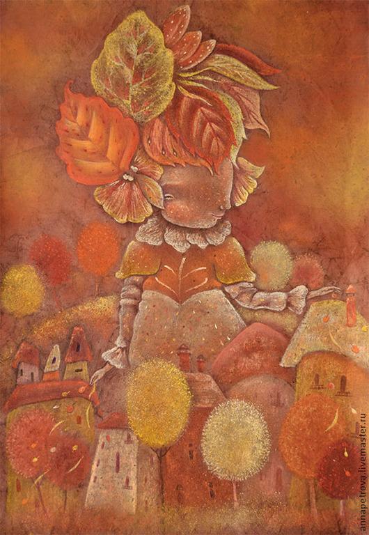 Картина фэнтези Осень