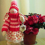 Куклы и игрушки ручной работы. Ярмарка Мастеров - ручная работа Зайка - Горошинка. Handmade.