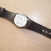 """Ремешок для часов ручной работы. Ярмарка Мастеров - ручная работа Ремешок """"для мужских часов"""". Handmade."""