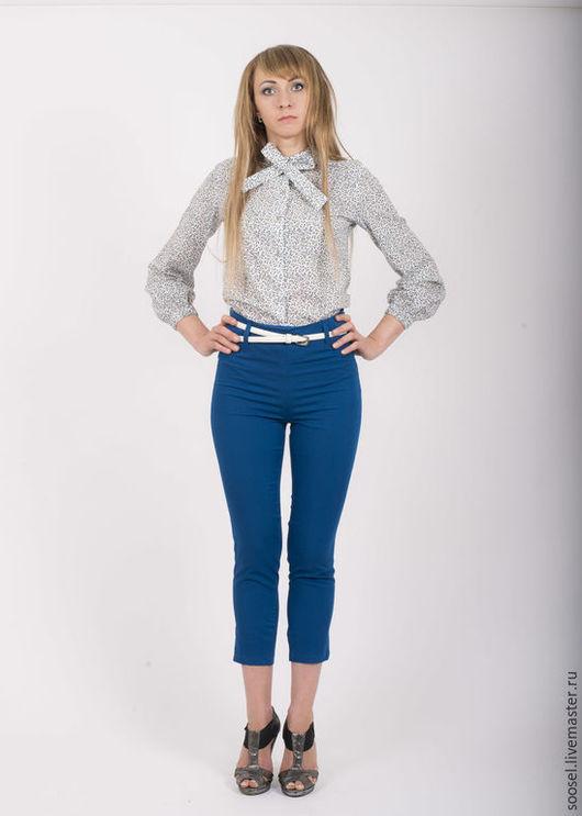 """Блузки ручной работы. Ярмарка Мастеров - ручная работа. Купить Блузка """"Веточки"""" с завязками. Handmade. Блузка, разноцветный"""