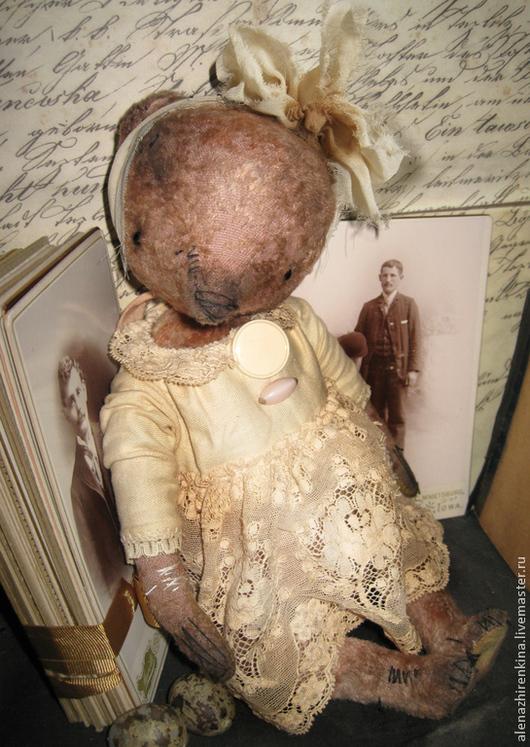 Коллекционные куклы ручной работы. Ярмарка Мастеров - ручная работа. Купить Туманные РОЗЫ. Handmade. Кремовый, кружево, плюш винтажный
