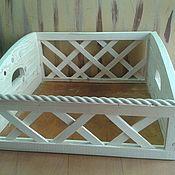 Для дома и интерьера ручной работы. Ярмарка Мастеров - ручная работа Деревянные ящики под ваш размер. Handmade.