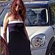 """Платья ручной работы. Ярмарка Мастеров - ручная работа. Купить Платье трикотажное  с декольте """"Парижанка"""". Handmade. Тёмно-синий"""