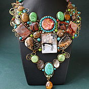 Украшения handmade. Livemaster - original item necklace hostess source. Handmade.