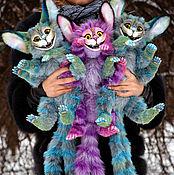 Куклы и игрушки ручной работы. Ярмарка Мастеров - ручная работа Полтора Чешира. Handmade.