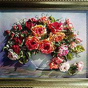 Картины и панно ручной работы. Ярмарка Мастеров - ручная работа картина Розовое настроение. Handmade.