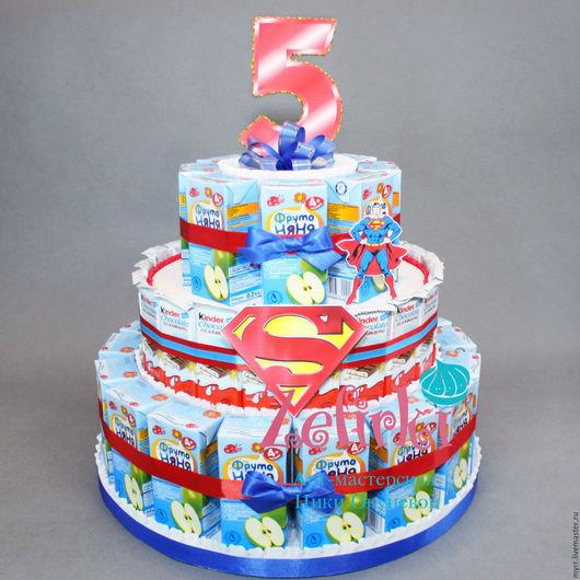 Фото торт барни
