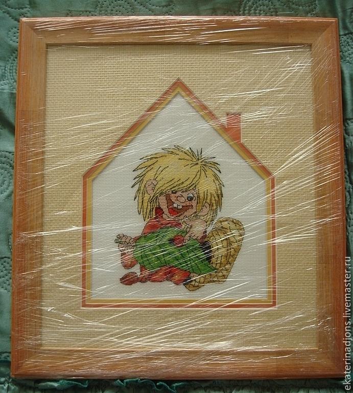Бесплатные схемы вышивка крестом домовенок