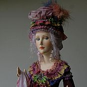 Куклы и игрушки ручной работы. Ярмарка Мастеров - ручная работа Фиалка. Handmade.