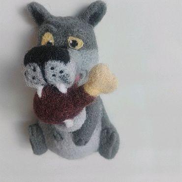 """Куклы и игрушки ручной работы. Ярмарка Мастеров - ручная работа Магнитик """"щас спою`. Handmade."""