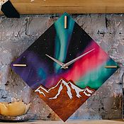 Для дома и интерьера handmade. Livemaster - original item Interior clock