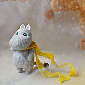 Куклы и игрушки ручной работы. Ярмарка Мастеров - ручная работа Серый мумик. Handmade.