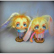 Куклы и игрушки ручной работы. Ярмарка Мастеров - ручная работа Давай слушать друг друга!... или четыре пары ушей). Handmade.