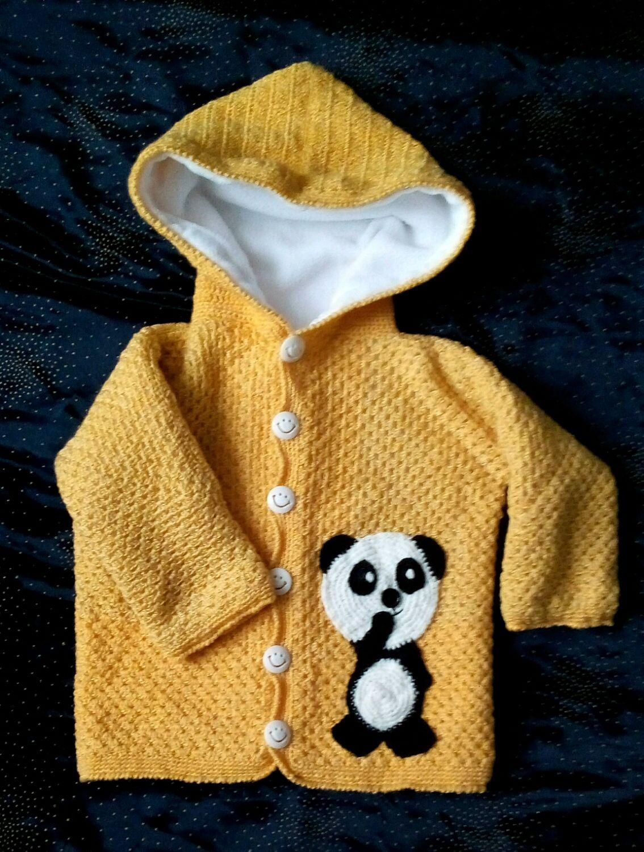 Children's sweater ,crocheted ,insulated fleece, Sweater Jackets, Ekaterinburg,  Фото №1