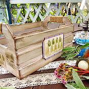 """Для дома и интерьера ручной работы. Ярмарка Мастеров - ручная работа Ящик для хранения """"Весна в Провансе"""". Handmade."""