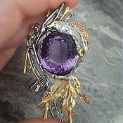 Украшения handmade. Livemaster - original item Wish Fulfillment pendant with 55-Karat amethyst!. Handmade.