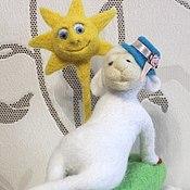 """Куклы и игрушки ручной работы. Ярмарка Мастеров - ручная работа """"Я на солнышке ляжу.."""". Handmade."""