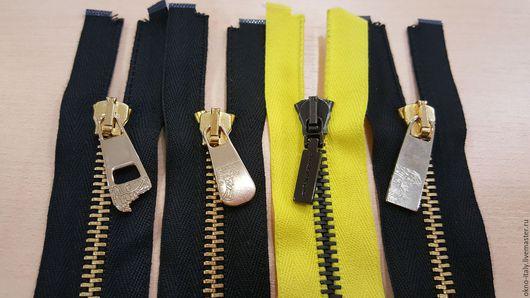 Шитье ручной работы. Ярмарка Мастеров - ручная работа. Купить Молнии «Versace»  55 см 1 замок. Handmade. Черный
