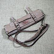 Сумки и аксессуары handmade. Livemaster - original item CASE: Leather chef`s twist for 7 items. Handmade.
