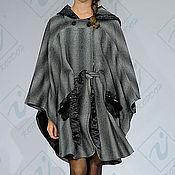 """Одежда ручной работы. Ярмарка Мастеров - ручная работа Пальто-пончо """"Шиншилла"""" 2. Handmade."""