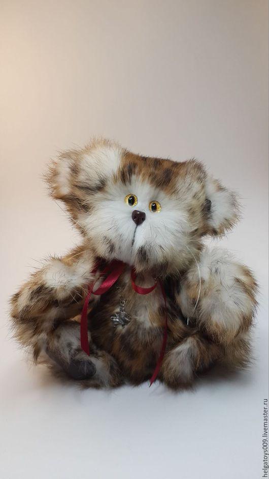 Мишки Тедди ручной работы. Ярмарка Мастеров - ручная работа. Купить Котик - леопарденок. Handmade. Бежевый, игрушка котик
