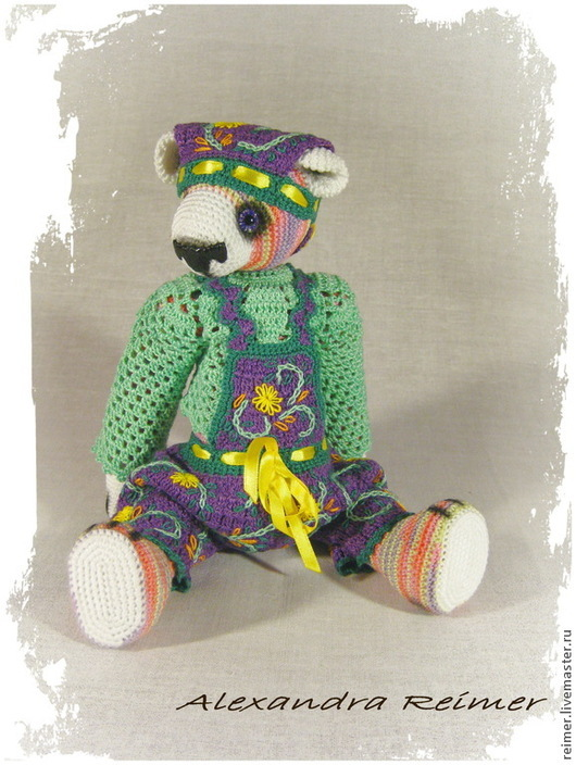 Мишки Тедди ручной работы. Ярмарка Мастеров - ручная работа. Купить Акима. Handmade. Мишка тедди, игрушка ручной работы