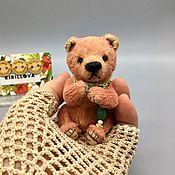 Куклы и игрушки handmade. Livemaster - original item Mini figures and figurines: Mini Bear Berry. Handmade.