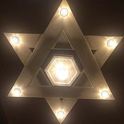 Для дома и интерьера handmade. Livemaster - original item Ceiling lamp