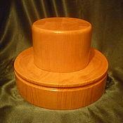 Материалы для творчества handmade. Livemaster - original item PORK PIE HAT WITH A HIGH CROWN. Handmade.
