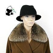Аксессуары handmade. Livemaster - original item Removable fur collar from fur of a raccoon.. Handmade.
