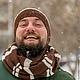 шапка, снуд, шарф, мужская шапка, мужской шарф, мужской снуд, подарок для мужчины, подарок мужу, подарок на 23 февраля, день защитника отечества, подарок на день защитника отечества, снуд коричневый,