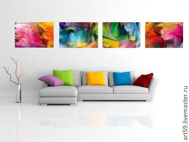 Remarkable The Picture Lights On 4 Canvases Frankydiablos Diy Chair Ideas Frankydiabloscom