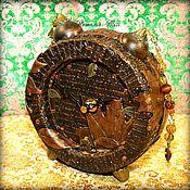 """Для дома и интерьера ручной работы. Ярмарка Мастеров - ручная работа Часы """"Золотая осень"""". Handmade."""
