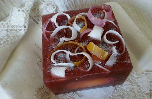 Мыло ручной работы. Ярмарка Мастеров - ручная работа. Купить Мыло«Французское пирожное с пломбиром». Handmade. Комбинированный, вкусное мыло