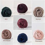 Материалы для творчества handmade. Livemaster - original item Silk for felting Tuss: In assortment.10g. Handmade.