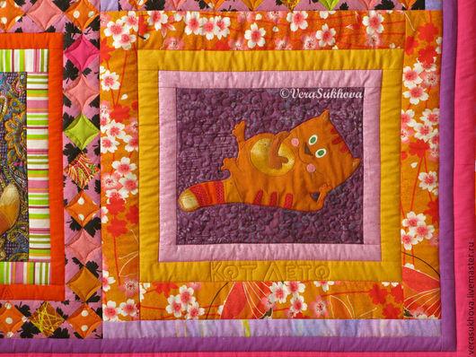 КотЛето - фрагмент одеяла