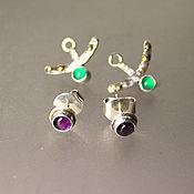 Украшения handmade. Livemaster - original item Earrings-ear-stud. Handmade.