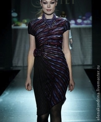 Платья ручной работы. Ярмарка Мастеров - ручная работа. Купить Платье асимметричное. Handmade. Модная одежда, женская одежда, абстрактный