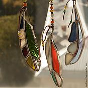Для дома и интерьера ручной работы. Ярмарка Мастеров - ручная работа Интерьерная подвеска Ловец солнца из стекла тиффани. Handmade.