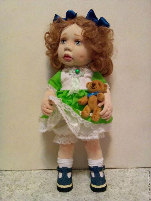 Коллекционные куклы ручной работы. Ярмарка Мастеров - ручная работа. Купить Настенька. Handmade. Кукла в подарок, холофайбер