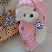 Teddy Bears handmade. Livemaster - original item Teddy bear Owl. Handmade.