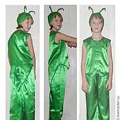 Работы для детей, ручной работы. Ярмарка Мастеров - ручная работа Костюм для утренника, карнавальный костюм: Кузнечик, кузнец. Handmade.