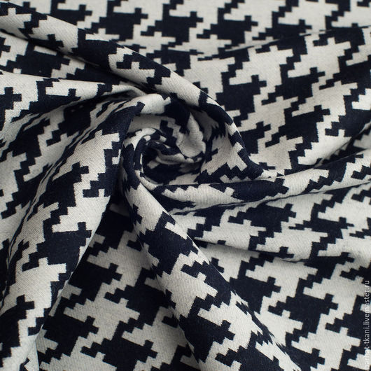 Шитье ручной работы. Ярмарка Мастеров - ручная работа. Купить Итальянская ткань гусиная лапка. Handmade. Итальянские ткани