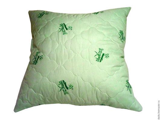 Текстиль, ковры ручной работы. Ярмарка Мастеров - ручная работа. Купить Подушка Бамбук 50 см на 70 см. Handmade.