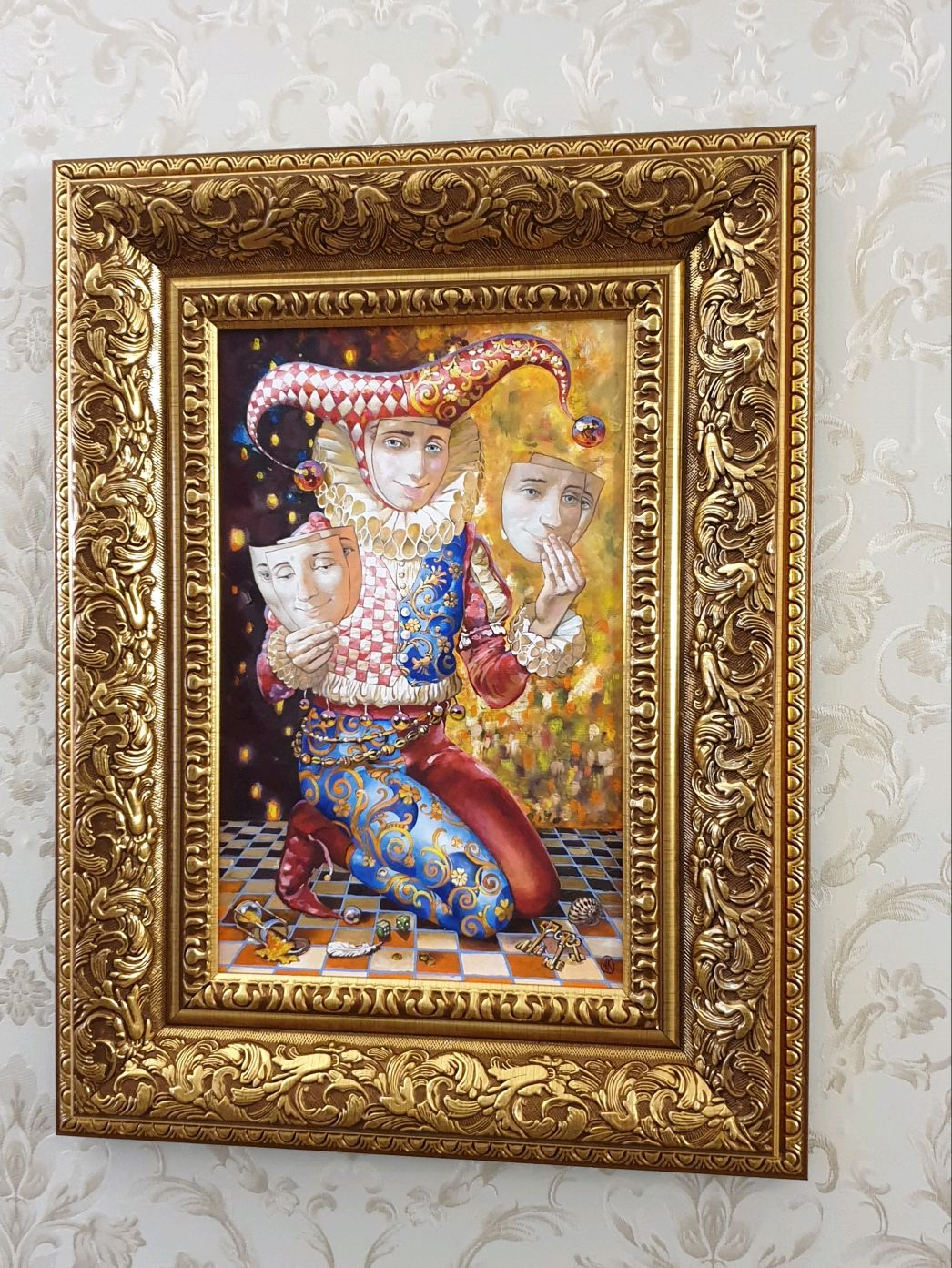 Арлекин, Картины, Москва,  Фото №1